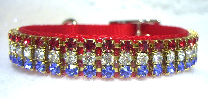 Rhinestone Cat Collars